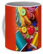 Buttons And Thread Coffee Mug