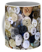 Buttons In Grunge Style Coffee Mug