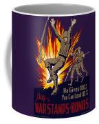 Buy War Stamps And Bonds Coffee Mug by War Is Hell Store