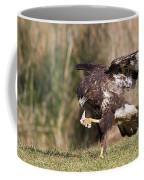 Buzzard Feeding Coffee Mug