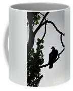 Buzzard Silhoutte Coffee Mug