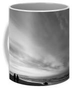 Bw Beach Coffee Mug