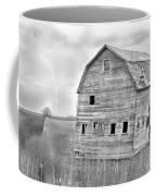 Bw Rustic Barn Lightning Strike Fine Art Photo Coffee Mug