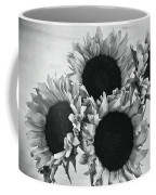 Bw Sunflowers #010 Coffee Mug
