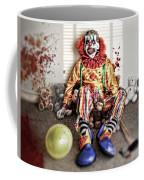 By Blood A King In Heart A Clown Coffee Mug