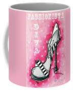 By Pink Design By Madart Coffee Mug
