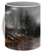 ...by The Pier... Coffee Mug