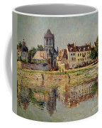 By The River At Vernon Coffee Mug