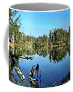 By The River Coffee Mug by Kaye Menner