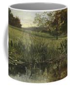 By The Riverbank, 1869 Coffee Mug