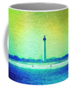 By The Sea - Cape May Lighthouse Coffee Mug