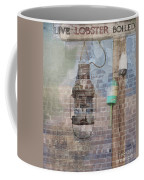 By The Sea In Color Coffee Mug