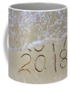 Bye Bye 2017 Welcome2018 Coffee Mug