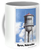 Byron Water Tower Poster Coffee Mug