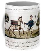 Byzantine Farmer, 15th C Coffee Mug