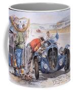 c 1949 the delahaye 135 s driven by giraud and gabantous Roy Rob Coffee Mug