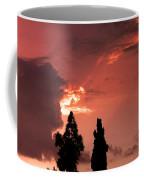 Cloud Anamoly Running Man Coffee Mug