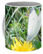 Cabbage White Butterfly  Coffee Mug