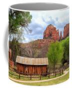 Cabin At Cathedral Rock Coffee Mug