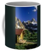 Cabin At Mt Assiniboine Lodge, Mt Coffee Mug