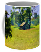 Cabin At Valley Forge Coffee Mug