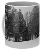 Cabin Between The Cedars Coffee Mug