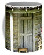 Cabin Door Coffee Mug