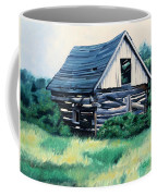 Cabin In The Clearing Coffee Mug