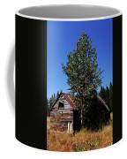 Cabin In The Meadow Coffee Mug