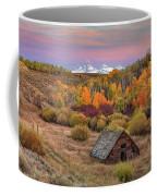 Cabin Under The Tetons Coffee Mug by Leland D Howard