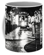 Cable Car Stop Blackout Coffee Mug