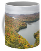 Cabot Vermont Nichols Pond Autumn Coffee Mug