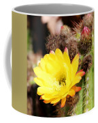 Cactus Blooms Yellow 050214g Coffee Mug
