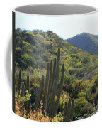 Cactus In The Desert  Coffee Mug