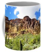 Cactus On The Mountainside Coffee Mug