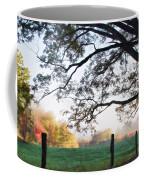 Cades Cove Autumn Morning Coffee Mug