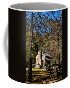 Cades Cove Early Settler Cabin  Coffee Mug