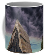 Cadet Chapel At The United States Air Force Academy Coffee Mug