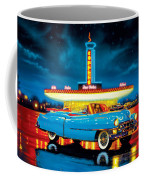 Cadillac Diner Coffee Mug by MGL Studio - Chris Hiett
