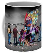Cadillac Ranch Spray Paint Fun Along Historic Route 66 By Amarillo Texas Coffee Mug