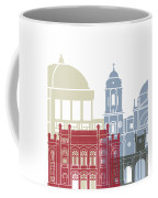Cadiz Skyline Poster Coffee Mug