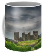 Caerphilly Castle East View 3 Coffee Mug