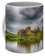 Caerphilly Castle South East View 1 Coffee Mug