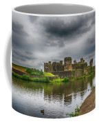 Caerphilly Castle South East View 2 Coffee Mug