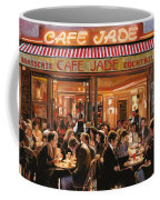 Cafe Jade Coffee Mug by Guido Borelli