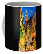 Cafe Of Amsterdam At Night  Coffee Mug