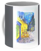 Cafe Terrace At Night - Van Gogh Coffee Mug