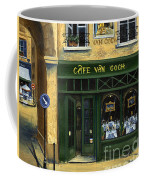 Cafe Van Gogh Paris Coffee Mug by Marilyn Dunlap