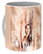 Caffeine High Pin Up Girl Coffee Mug