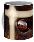 Caged Buffalo Reflects Coffee Mug